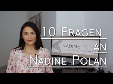 10 Fragen an Nadine Polan - #richtigversichert
