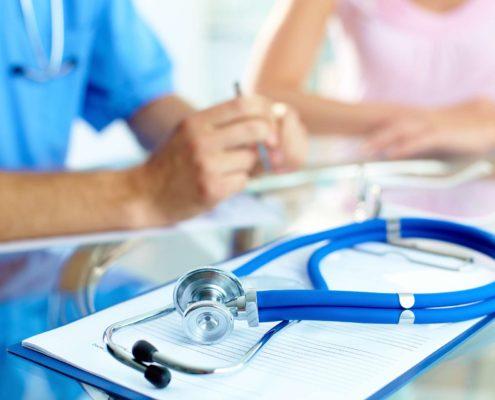 Krankenversicherung, Arzt